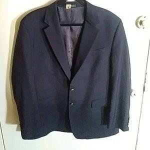 Van Huesen Navy blazer sports jacket size 44R